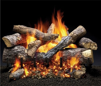 Outdoor Grand Oak Logs