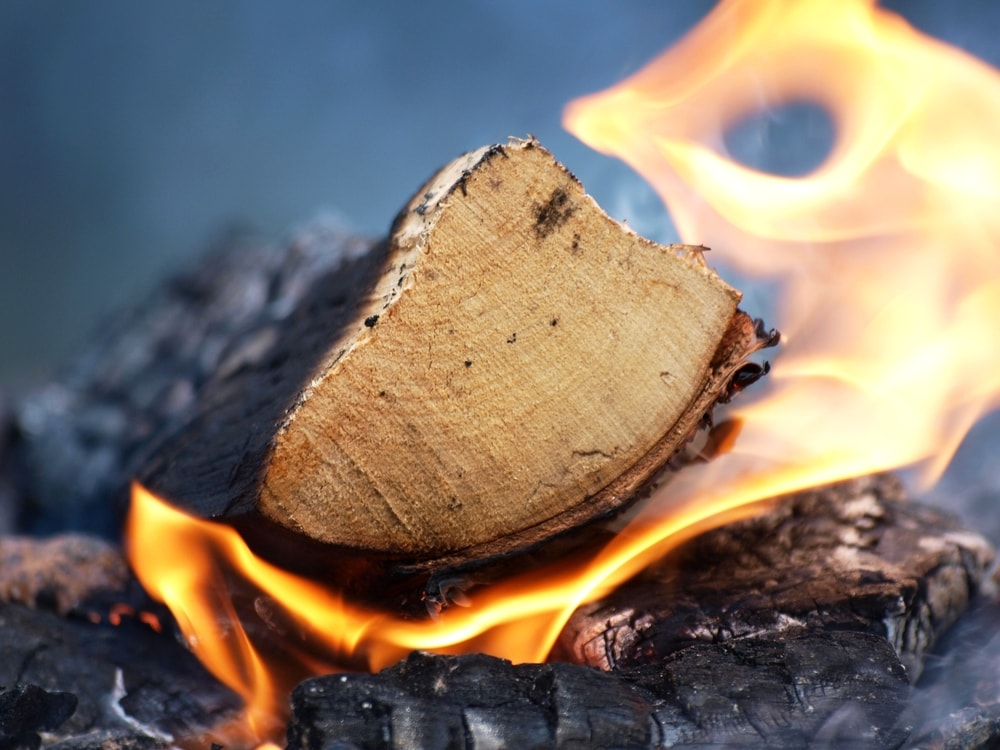 How to tell your firewood is ready for your wood stove.