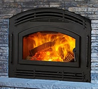 Pioneer II Wood Fireplace