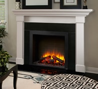SimpliFire Built-In Electric Fireplace Series
