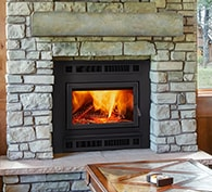 Pioneer III Wood Fireplace