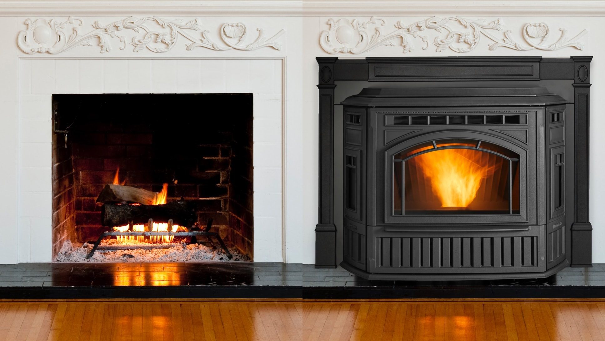 Remarkable Pellet Fireplace Inserts Quadra Fire Home Interior And Landscaping Ologienasavecom