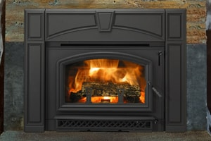 Instantly Upgrade Your Cur Fireplace With A Insert From Quadra Fire Add Value And Ambiance To Home Achieve More Eco Friendly