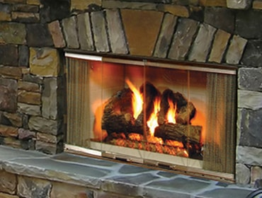 Montana Wood Fireplace Quadra Fire