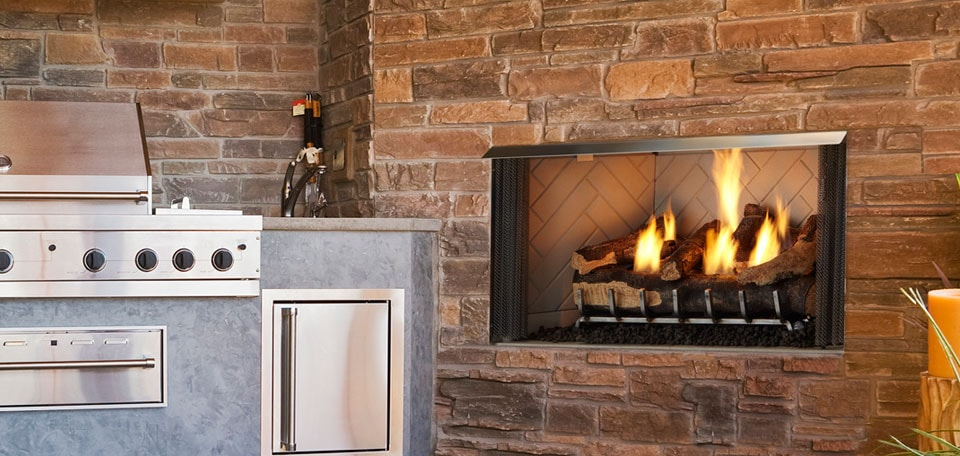 Villa Gas Fireplace | Quadra-Fire