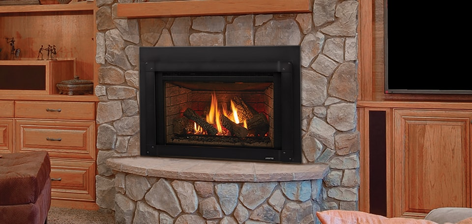 Excursion Series Gas Fireplace Insert, Energy Efficient Gas Fireplace Insert