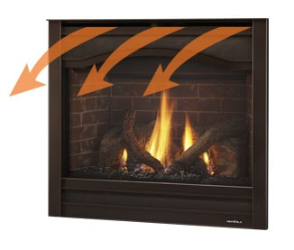 Super Excursion Series Gas Fireplace Insert Quadra Fire Home Interior And Landscaping Ymoonbapapsignezvosmurscom