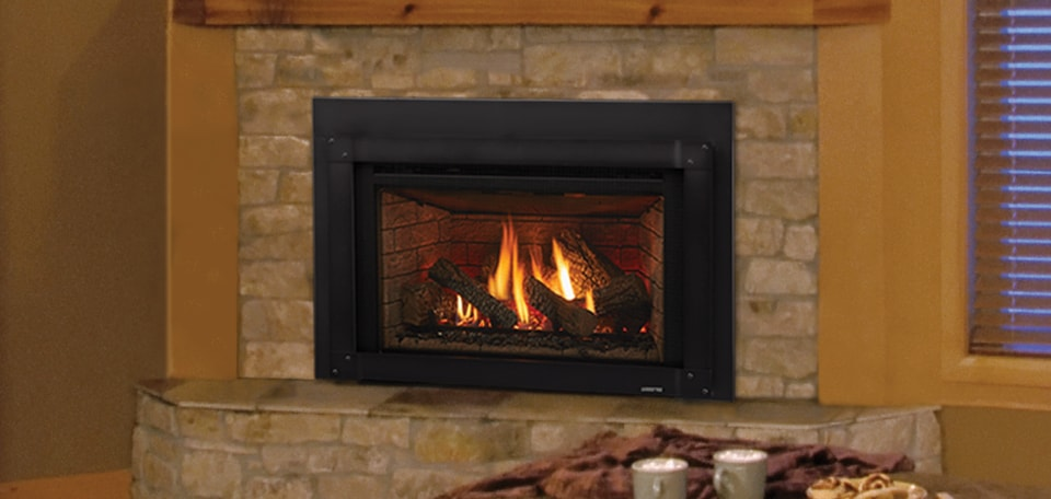 Excursion III Gas Fireplace Insert