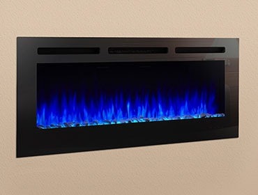 SimpliFire Allusion Electric Fireplace Series