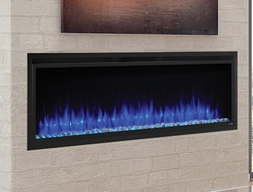 SimpliFire Allusion Platinum Electric Fireplace Series
